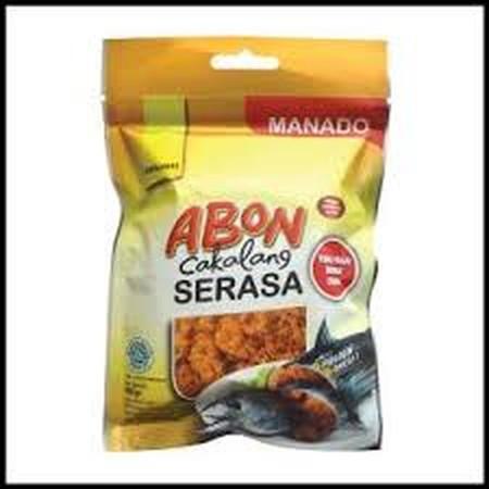 Abon Cakalang Serasa Food memiliki 2 varian rasa yaitu pedas dan original. Terbuat dari ikan cakalang yang segar khas Manado, abon cakalang Serasa Food sangat cocok untuk berbagai menu masakkan seperti nasi kuning, telur dadar, atau pendamping olahan bubu