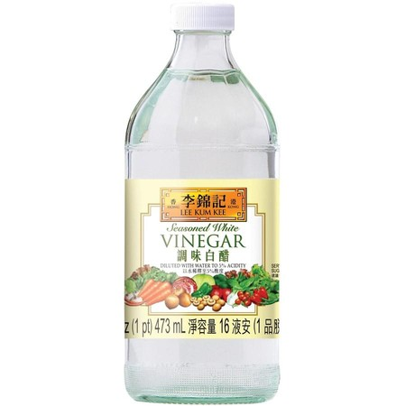Crystal Clear And Refreshing, Lee Kum Kee Seasoned White Vinegar Is Perfect For Pickling, Salads, Sweet And Sour Dishes, And Sushi. Simply Add A Few Drops To Enhance The Aroma And Flavor Of Your Favorite Dishes.