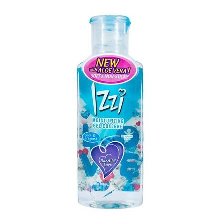 Izzi Moist Gel merupakan cologne yang dapat digunakan sehari-hari , memiliki wangi yang segar.