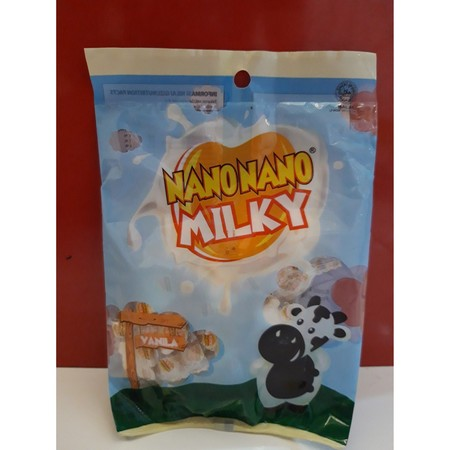 Permen susu rasa vanila dengan kandungan Kalsium yang baik untuk anak-anak.