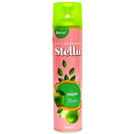 Stella Air Freshener Naturals Apple Adalah Pengharum Ruangan Yang Dikemas Dalam Bentuk Aerosol, Yang Memberikan Suasana Menyegarkan.
