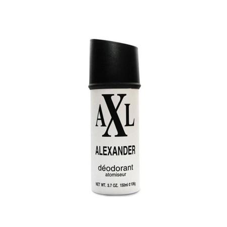 Axl Alexander Spray Deodorant [150 Ml] Merupakan Deodorant Body Spary Dengan Formula Etanol, Butane, Isobutane, Propane, Dan Perfume Yang Mencegah Bau Karena Keringat Berlebihan Dari Ketiak Anda, Serta Memberikan Perlindungan Pada Tubuh Sepanjang Hari Aga