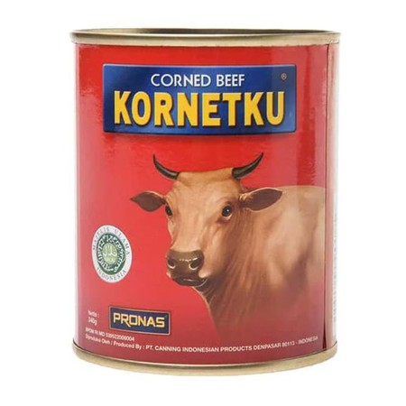 Not Only Creating Premium Products, Pronas Also Create Products For Middle To Low Market With Affordable Price, Kornetku. Favorite Menu Are Toast Bread And Instant Noodle. Kornetku Will Add Rich Taste In Your Meals.   Ingredients: Soy, Water, Beef, Wheat