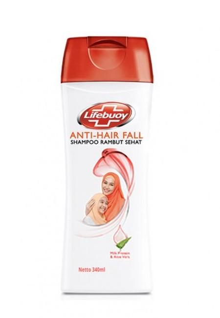 Shampoo Lifebuoy Anti Hair Fall Dengan Kandungan Milk Protein Lock Formula & Aloe Ver Menutrisi Rambut Dari Dalam. Sehigga Kini Anda Tidak Perlu Khawatir Lagi Dengan Rambut Rontok. Lifebuoy Shampoo Rambut Sehat, Menjaga Rambut Anda Dan Keluarga Tetap Seha
