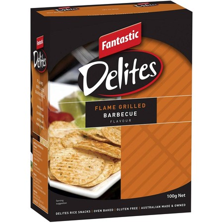 Fantastic Delites Are AustraliaS Favourite Crinkle Cut Rice Snack, Deliciously Seasoned With Delectable Gourmet Flavours. Made With The Goodness Of Rice, Fantastic Delites Are Gluten Free And Are Available In A Range Of Mouthwatering Flavours To Suit Any