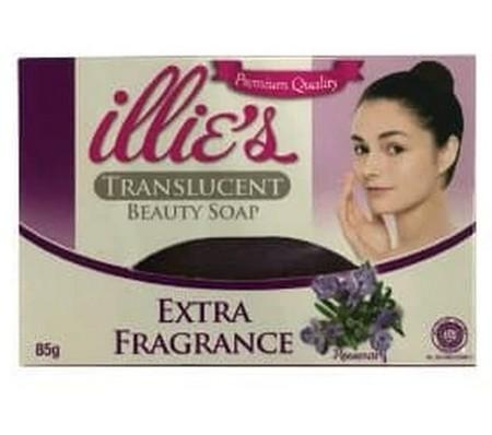 Illies Beauty Soap Extrara Vitamin memberishkan kulit tanpa menghilangkan kelembapan kulit karena diperkaya dengan pelembab alami Bioemollen.
