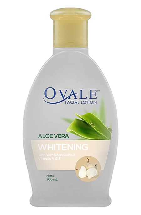 Ovale Face Lotion is One practical step facial cleanser containing Aloe Vera and Vitamin A and Vitamin E