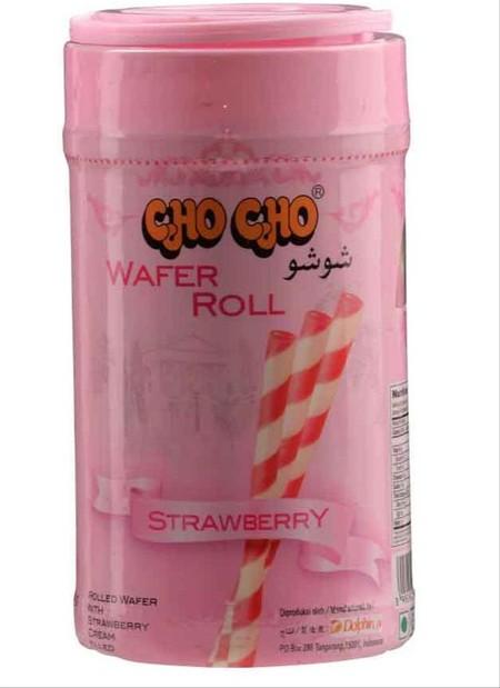 Wafer stick dengan pilihan rasa strawberry yang lezat serta wafer yang gurih, sangat cocok sebagai teman kumpul bersama keluarga. Selain itu bisa juga untuk topping di eskrim dan juga hiasan kue