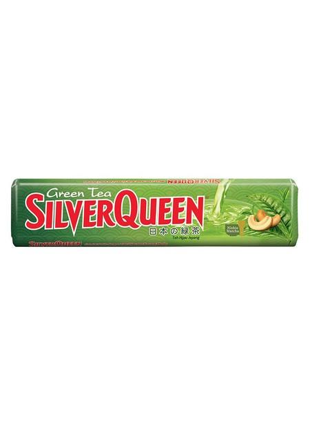 SilverQueen Greentea Cokelat [30 g] merupakan cokelat dengan rasa greentea atau banyak juga dikenal dengan nama matcha. Matcha memberikan sensasi menyegarkan dan menjadi lebih rilex.