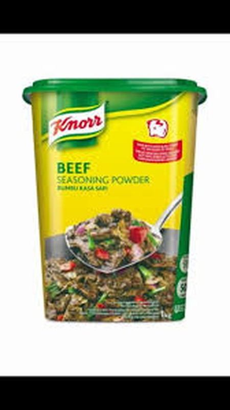 Knorr Beef Powder Is A Versatile Seasoning Madeby Real Beef To Boost Meatiness And Aroma In Various Applications, Such As Soups, Sauces, And Marinade For Meat.