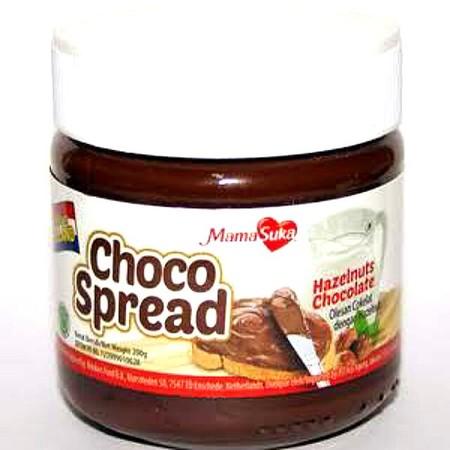 Mamasuka Choco Spread Hazelnut Adalah Selai Untuk Topping Roti Atau Makanan Dengan Rasa Coklat Hazelnut