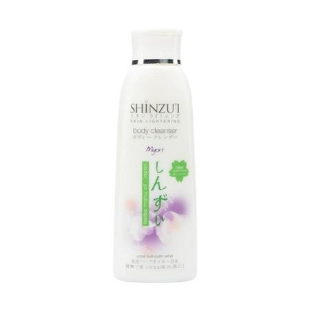 Shinzui Body Cleanser Myori 250Ml Adalah Sabun Cair Yang Dapat Membersihkan Dan Mencerahkan Kulit Secara Alami Dan Lebih Efektif. Sabun Cair Dari Jepang Ini Diperkaya Dengan Herba Matsu Oil, Bahan Pemutih Yang Mencerahkan Kulit Dengan Membentuk Leuko-Mela
