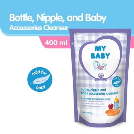 Sabun Pembersih Perlengkapan Bayi Ini Mampu Membersihkan Sisa Susu Dan Lemak Yang Menempel Pada Botol Susu, Dot, Dan Perlengkapan Makan Bayi Lainnya.  Kandungan Formula Khusus Yang Efektif Membersihkan Perlengkapan Bayi  Manfaat -Membunuh Kuman Dan Bakter
