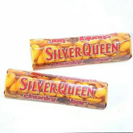 Silverqueen Chunky adalah salah satu varian coklat Silverqueen, inovasi baru yang memberikan kelezatan dalam potongan coklat yang lebih besar. Kelezatan Silverqueen chocolate ini dihasilkan dari perpaduan yang pas antara coklat, susu, dan kacang almond di