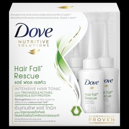 Terobosan Baru Dari Dove Untuk Mengatasi Rambut Rontok Dari Akarnya. Dengan Formulasi Istimewa Mengandung Dynazinc And Grapeseed Oil Bantu Mengurangi Kerusakan Dan Mengunci, Menguatkan Rambut Dari Akar, Sehingga Secara Efektif Mengurangi Rambut Rontok Kar