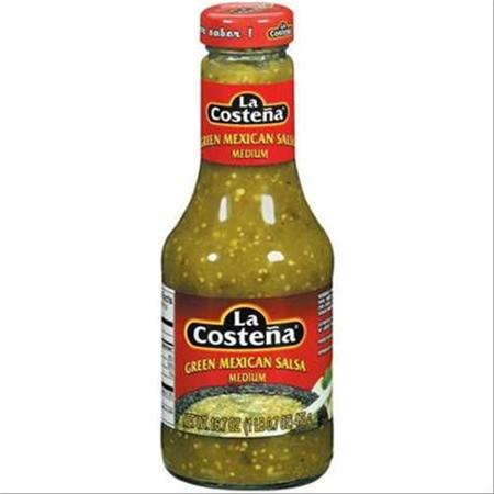 Medium Green Mexican Salsa