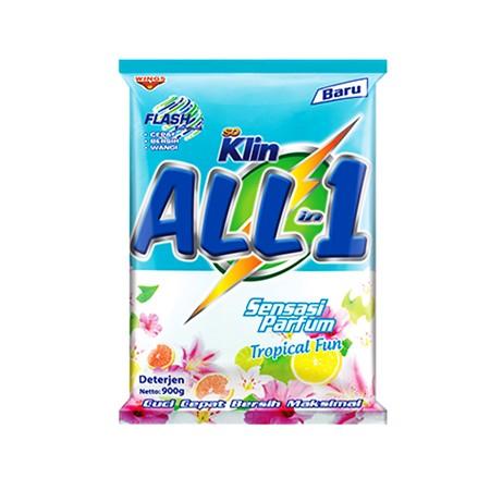 So Klin Powder Detergent All In 1 Tropical Merupakan Detergen Bubuk Yang Dapat Membantu Anda Untuk Mencuci Semua Jenis Pakaian Dengan Hasil Yang Bersih Dan Bebas Noda. Detergen Ini Mampu Membersihkan Pakaian Dengan Lebih Cepat Dan Bersih. Kandungan Parfum