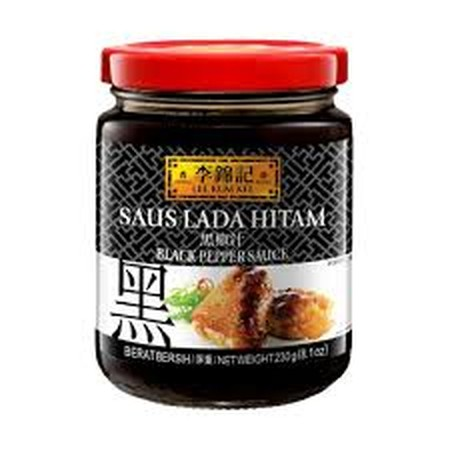 A Ready-To-Use All Natural Sauce Made From Selected Black Pepper. Use It As A Gravy For Your Favourite Steaks And As A Condiment For Stir-Frying.