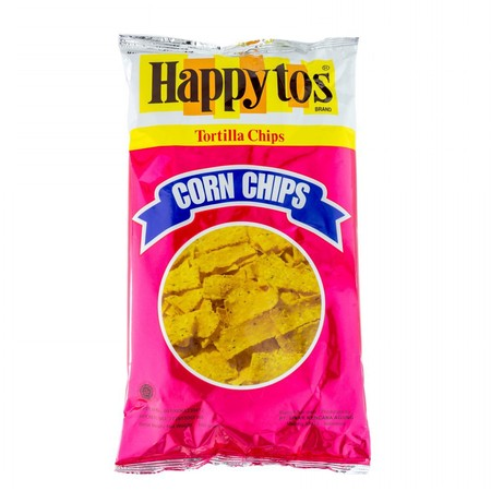 Happytos Tortilla Chips Green Bag 160Gr  Happytos Tortilla Chips Green Bag 160Gr Merupakan Perpaduan  Kripik Jagung Ekstra Renyah Dengan Rasa Keju Cheddar Yang Akan Memanjakan Lidah Anda. Kripik Yang Biasa Dikenal Dengan Tortila Ini Diolah Dan Dikemas Sec