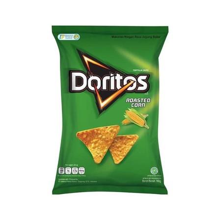Doritos Roasted Corn [160 g] merupakan makanan yang terbuat dari bahan-bahan pilihan berkualitas yang diproses secara higienis untuk menghasilkan makanan bermutu dengan rasa yang istimewa. Cocok dinikmati untuk menemani waktu santai bersama teman dan kelu