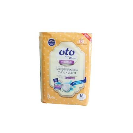 Oto Adult Pants adalah Popok dewasa yang Memiliki permukaan lembut serta sirkulasi udara sehingga tidak panas saat digunakan. Cocok digunakan untuk manula, orang sakit, pasien operasi, wasir, diare, Ibu melahirkan, dan saat sedang diperjalanan.