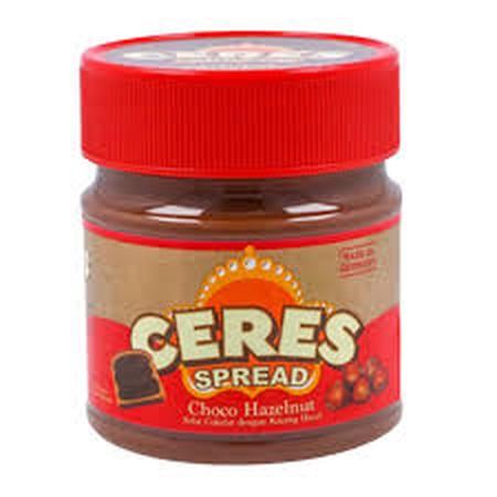 Ceres Choco Hazelnut Merupakan Selai Roti Rasa Coklat Hazelnut Lezat Penuh Energi Yang Telah Menjadi Pilihan Utama Masyarakat Indonesia.
