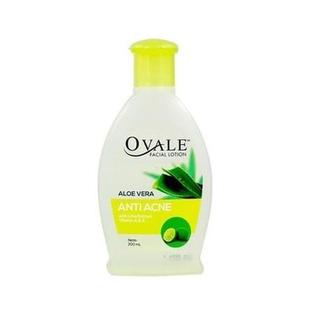Ovale Facial Lotion Anti Acne adalah Pembersih wajah dengan satu langkah diperkaya dengan aloe vera, Vitamin A & E menjadikan kulit wajah bersih , halus dan cerah.