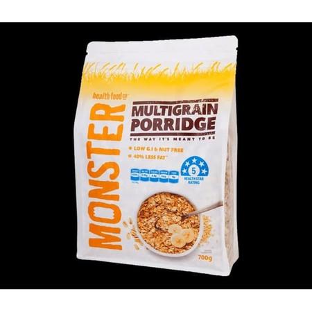 Monster Muesli Multi Grain Porridge 700Gr Monster Muesli Multi Grain Porridge Merupakan Sereal Sarapan Sehat Yang Terbuat Dari 100% Bahan-Bahan Alami Dan Tanpa Gula Tambahan Sehingga Memiliki Indeks Glikemik Yang Rendah. Produk Ini Dapat Membantu Memperba
