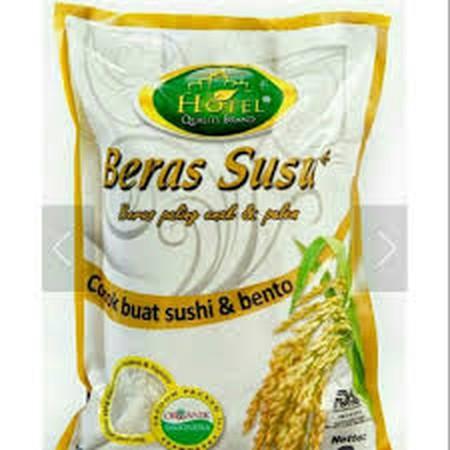 Hotel Beras Susu Organik merupakan produk beras putih pilihan yang terjamin kualitas dan kebersihan dalam proses produksinya. Aman dan menyehatkan untuk dikonsumsi sehari-hari