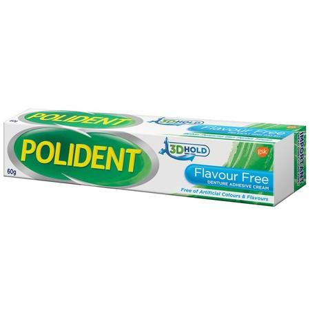 Polident Adhesive Flavour Free Merupakan Krim Perekat Gigi Tiruan Yang Mampu Mencegah Makanan Masuk Ke Sela Sela Gigi Dan Meningkatkan Kenyamanan Saat Menggunakan Gigi Tiruan. Krim Ini Mudah Digunakan Dengan Penutup Yang Mengontrol Cairan. Diformulasi Beb
