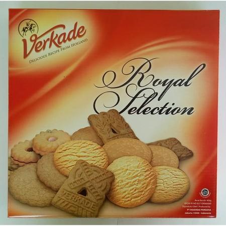 Verkade Royal Selection Merupakan Campuran Berbagai Macam Biskuit