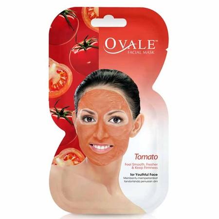 Ovale Facial Mask Tomato dapat Membantu mengencangkan, melembabkan dan mencerahkan kulit. Sangat mudah digunakan dan membantu mengangkat sel kulit mati. Memiliki Kandungan. Face mask yang mengandung collagen, Vit A, C & E.