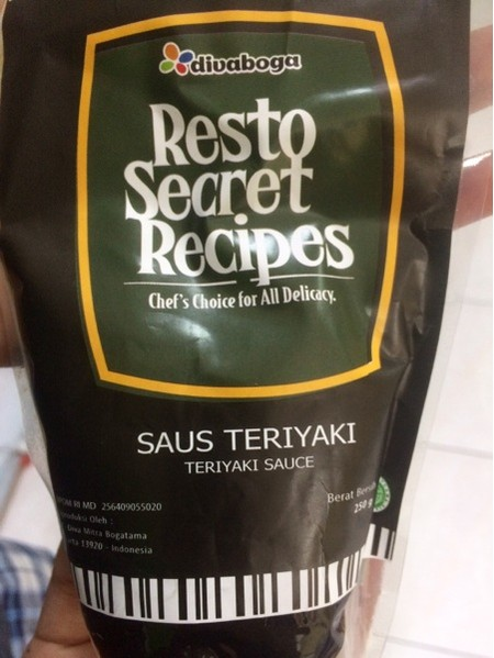 Chef's Choice for all delicacy. Saus Teriyaki