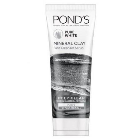 Baru, PondS Pure White Deep Clean & Purify Mineral Clay Foam!   Pertama Dari Pond'S, Revolusi Deep Cleansing Dengan Mineral.    Diformulasikan Khusus Dengan 100% Moroccan Clay Alami Yang Diperkaya Kandungan Mineral Untuk Mengikat Kotoran 4X Lebih Baik^ U
