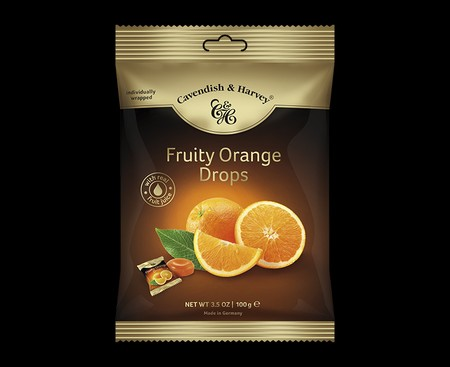 Like The Memory Of A Summer Orange Grove Somewhere Far Away. Savour The Mouth-Watering Taste Of Sun-Ripened Oranges. Our Juicy Orange Drops, Made With Real Fruit Juice, Are Dusted With Icing Sugar And Sealed In A Premium Gold Tin For The Highest Quality F