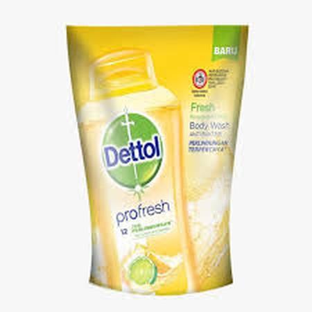 Dettol Body Wash Fresh Merupakan Sabun Cair Untuk Perlindungan Kulit Terhadap Kuman. Formulanya Menawarkan Perlindungan 100% Lebih Baik Dari Kuman. Sabun Cair Ini Mengandung  Formula Ph-Balanced Dengan Perlindungan Terpercaya Dettol Serta Keharuman Kesega