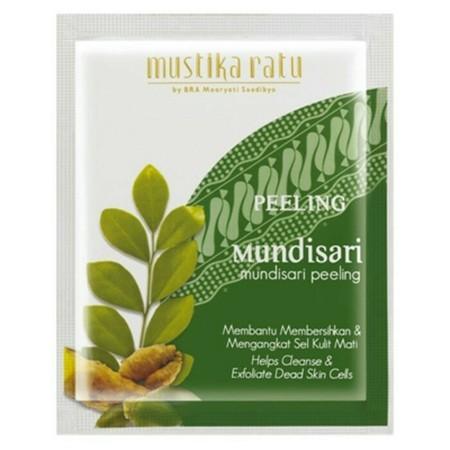 Mustika Ratu Masker merupakan masker wajah yang dapat membantu membersihkan dan mengangkat sel kulit mati.