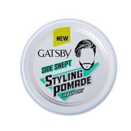 Produk Penata Rambut Tipe Pomade Berbahan Dasar Air Untuk Membentuk Gaya Rambut Side Swept Yang Ketat . Formula Yang Tidak Lengket Serta Bebas Minyak Membuat Gaya Rambut Side Swept Lebih Natural Dan Mudah Dibilas.