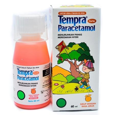Obat ini dapat digunakan untuk meredakan sakit kepala, sakit gigi, sakit pada otot, nyeri yang mengganggu dan menurunkan demam yang menyertai flu/influensa serta demam sesudah vaksinasi. TEMPRA FORTE merupakan obat sirup dengan rasa jeruk yang mengandung