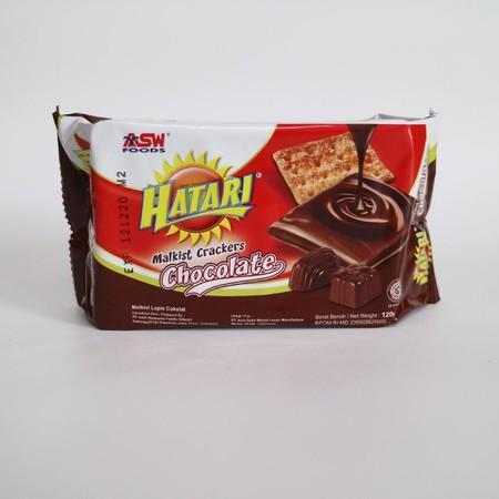 Hatari Malkist Crackers Coklat Merupakan Cemilan Biskuit Dengan Varian Rasa Krim Yang Nikmat.