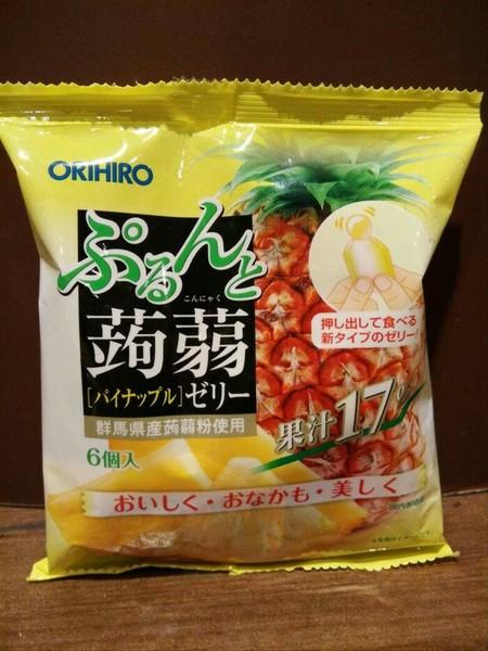 ORIHIRO Jelly rasa nanas 120gr muscat konnyaku jelly