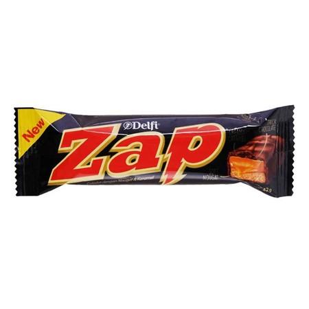 Delfi ZAP Cokelat [42 g] merupakan cokelat yang terbuat dari bahan alami yang sehat dapat dinikmati oleh siapapun, cocok dinikmati kapan saja dan dimanapun anda berada.
