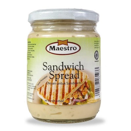 Sandwich Spread Is A Blend Of Mayonnaise And Sweet Relish That Gives A Delicious Taste On Your Sandwiches. To Enrich The Taste Of Your Vegetables Salads, Fruits, And Various Other Dishes.