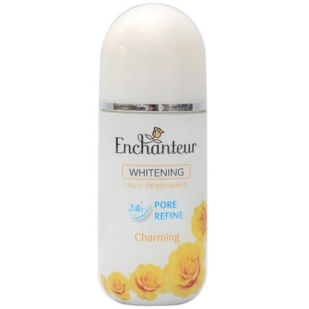 Tampil Memesona Dan Nyaman Sepanjang Hari Dengan Enchanteur Roll-On Deodorant Charming. Wangi Floral Yang Sensual Dan Tahan Lama, Diperkaya Dengan Formulanya Yang Cepat Kering Dan Tidak Lengket Pada Ketiak, Menjadikanmu Bebas Dari Bau Badan Dan Siap Tampi
