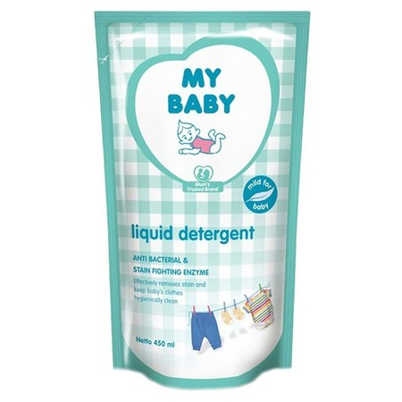 Pastikan Pakaian Si Kecil Bersih, Lembut Dan Terbebas Dari Kotoran Serta Bakteri Berbahaya Dengan Liquid Detergent. Formula Khususnya Ampuh Membersihkan Kotoran Pada Pakaian Bayi. Mengandung Ekstrak Chamomile.   Manfaat -Membersihkan Pakaian Si Kecil Deng