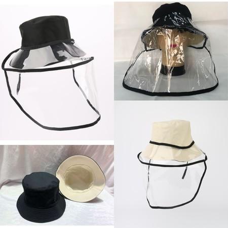 Lindungi diri dengan HAT WITH SHIELD VELCRO BLACK, yang selain sangat efisien melindungi diri juga tetap menjaga penampilanmu  Material: 70% Cotton + 10% Polyester + 20% TPU Colour: Black