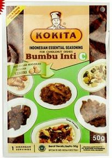 Kokita Is Committed To Providing The Specialized Ingredients And Essential Sauces Required To Enjoy The Authentic Flavors Of The Finest Indonesian Cuisine.  Kokita Essential Seasoning A (Bumbu Inti A Kokita) For Chilli Dishes Is An Essential Seasoning To