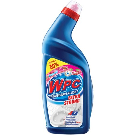Wpc Pembersih Kloset Botol 600 Ml, Adalah Cairan Aktif Pembersih Yang Secara Efektif Dapat Membersihkan Noda Pada Kloset, Membasmi Kuman & Bau Pada Toilet, Menjaga Warna Asli Porselen Karena Mengandung Bahan Bermutu Tinggi, Serta Membersihkan Kerak Memban