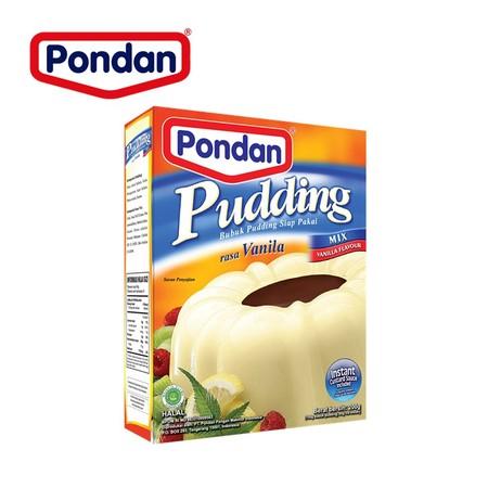 Bahan Premiks Untuk Membuat Pudding Vanilla
