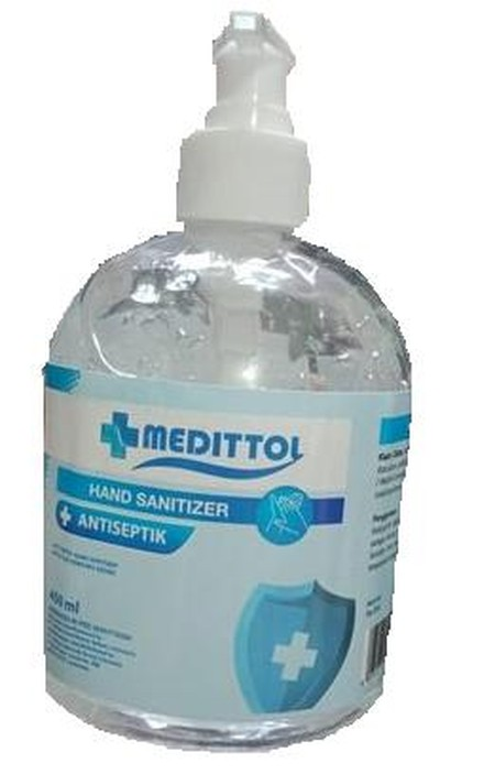 Medittol Antiseptik Cairan disinfektan dan dapat membunuh kuman . Cairan anti bakteri.